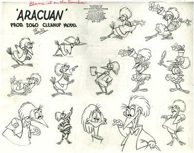 Disney Aracuan