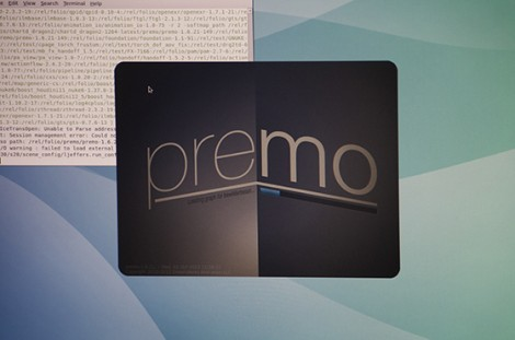 Premo splahs screen