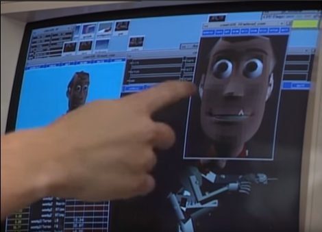 Pixar Menv facial work